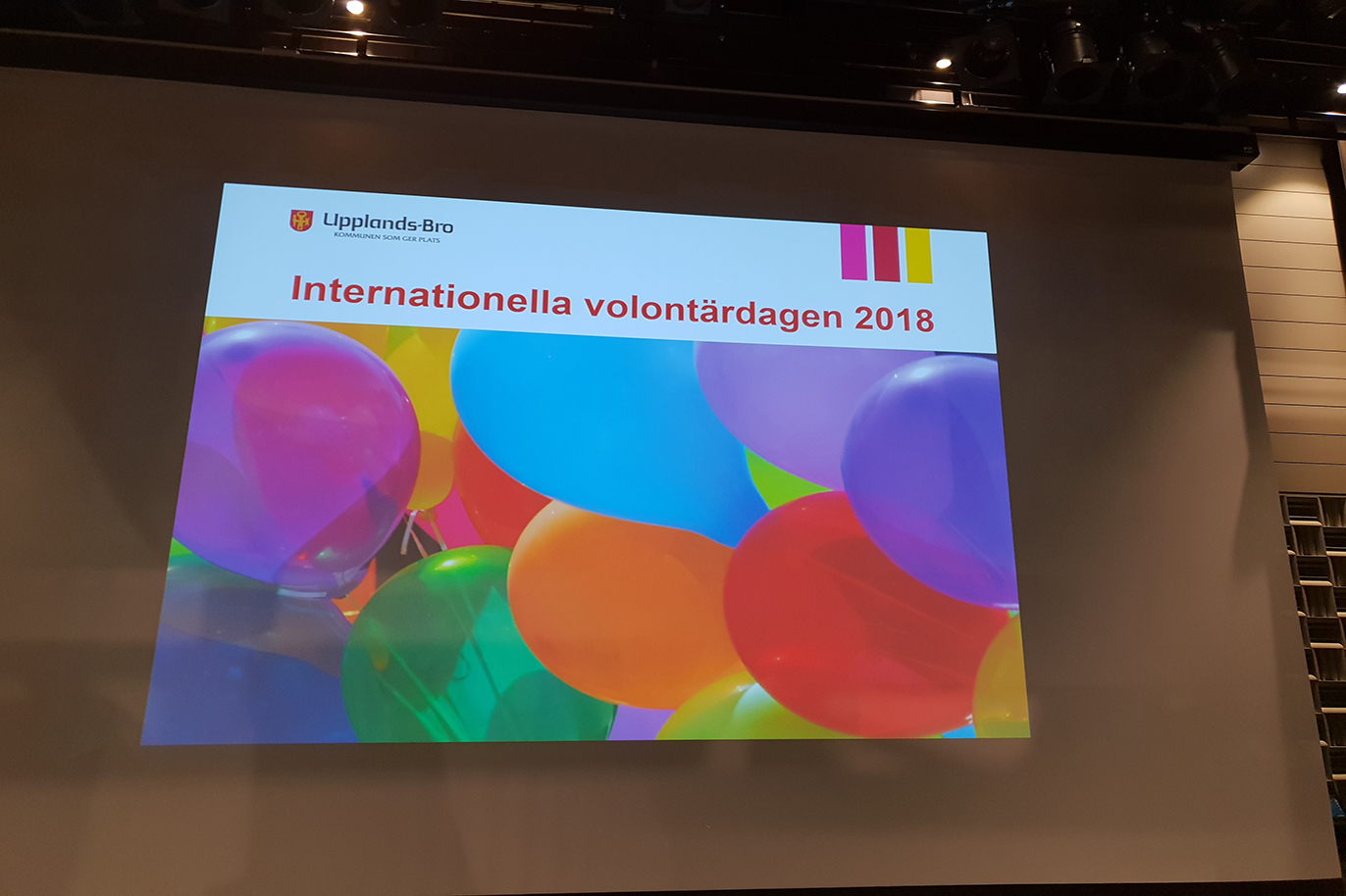 Internationella volontärdagen 2018.